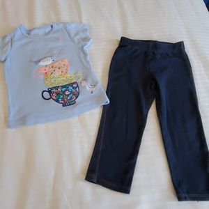 The Children's Place Matching Sets - 2T Clothes Set